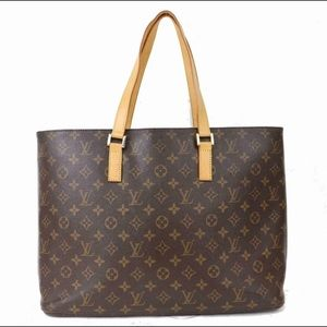 Authentic Louis Vuitton oversized tote